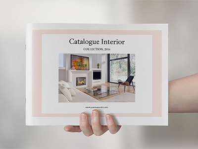 Catalogue Interior furnitue decor portfolio brochure catalogue catalogs photoshop indesign letter a4