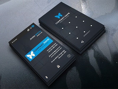 Smart Lock Business Card By Codegrape Dribbble Dribbble