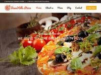 BanaHills Pizza - Restaurant Table Booking HTML Template