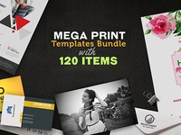 Mega Print Templates Bundle With 120 Items