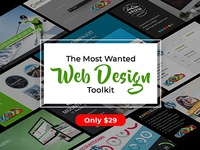 The Most Wanted Web Design Toolkit - Only $29