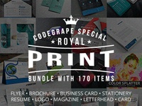 Royal Print Templates Bundle with 170 Items - Only $19