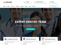 Dentxpert - Dental & Medicale Wordpress Theme
