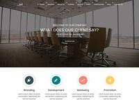 _nel - One Page Corporate HTML5 Templates