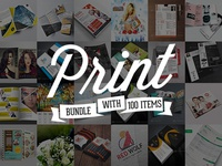 Elegant Print Templates Bundle with 100 Items – Only $19
