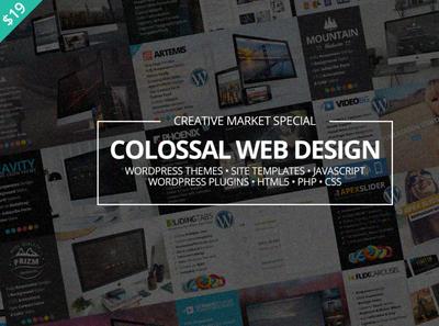 Colossal Web Design Bundle