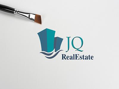 JQ Logo vector logo mockup design