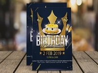 Royal Birthday Flyer