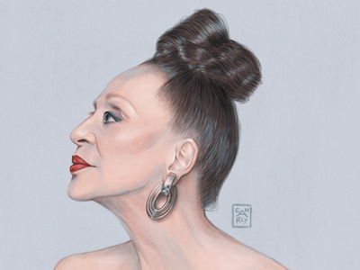 Mrs. Machado branding design conceptart digital digitalart fashionillustration fashion portrait painting portrait illustration portraiture portrait character illustration illustrator