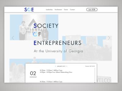 Society of Entrepreneurs Website