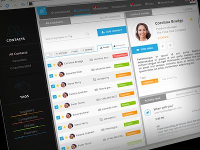 UI design for a web app ui design improvement web app