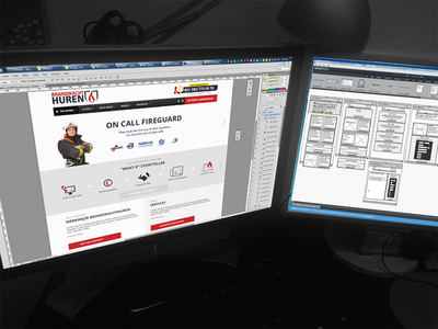 Website design - From wireframes to pixel perfect