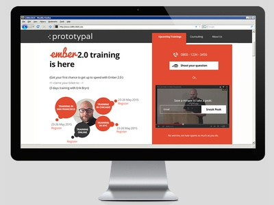 Landing Page Design landing page website design ui ux psd
