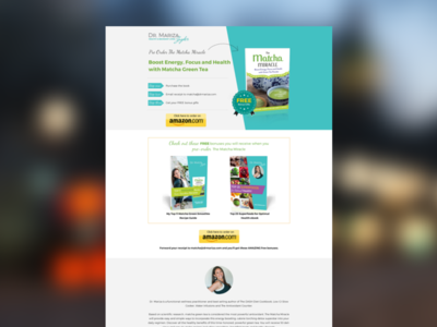 Bespoke Sales Page  website home page landing page sales page