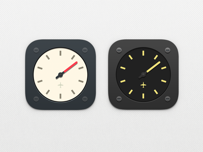 Jollylogic Altimeter Icon - Rejected jolly logic altimeter plane altitude machinery dark yellow grey blue red sausage