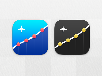 Jollylogic Stats Icon - Rejected jolly logic icon app ios7 stats charts blue red grey sausage