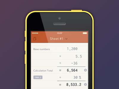 Scalar UI iOS7 - #latershot