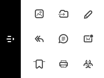 Front iOS icons app ios ui frontapp icons