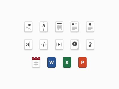 Attachments types file frontapp attachments icons