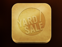 Yardsale rejected gold piece