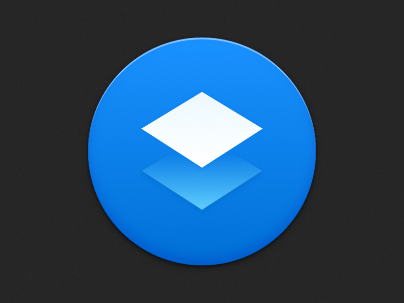 Blue Paper for macOS icon replacement icon app macos dropbox paper