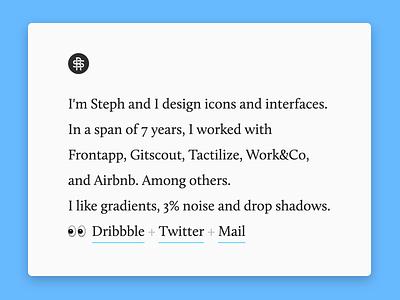 ⌘R dot com minimal website portfolio web refresh