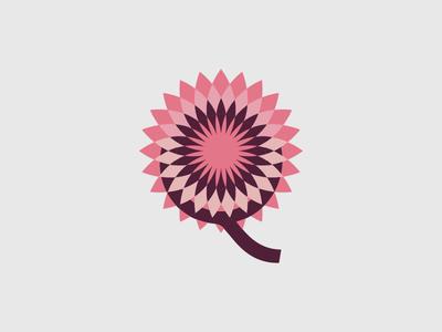 Flower 1 flower leaf illustration letter vector idea design