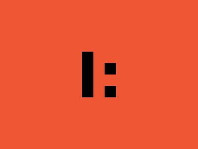 AF Monogram negative space concept black and white symbol logotype identity monogram mark brand black