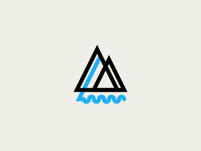 Source nature corporate design trees tree lake logo logotype waves water river
