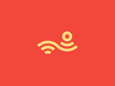 Wi-Fi ios internet wi-fi wireless network identity logos location branding signal