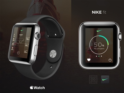 WATCH Nike Running App Concept