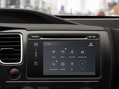 Honda car concept integration