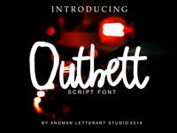 Outbeet Font Script