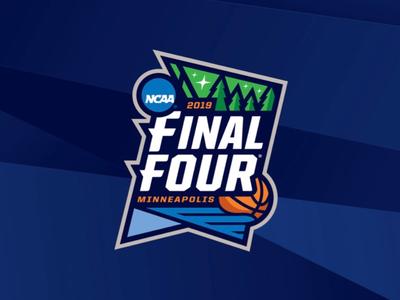 2019 Final Four march madness sports logos minnesota minneapolis ncaa final four 2019 sports branding logos