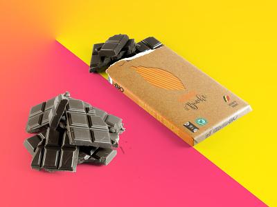 Packaging Côte D'or Bio #3 binche orange design branding packaging package mockup packagedesign mockup elephant logo cotedor coloful chocolate chocolat cacao belgium 2017