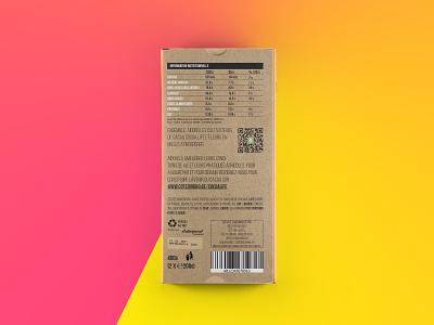 Packaging Côte D'or Bio #4 qrcode branding packaging package mockup packagedesign mockup elephant logo cotedor coloful chocolate chocolat cacao belgium 2017