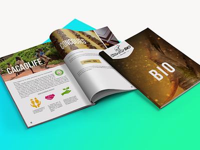 Magazine Cote Dor Bio #5 2017 agriculture life bio cacaolife magazine logo design branding packaging package mockup packagedesign mockup elephant logo cotedor coloful chocolate cacao chocolat