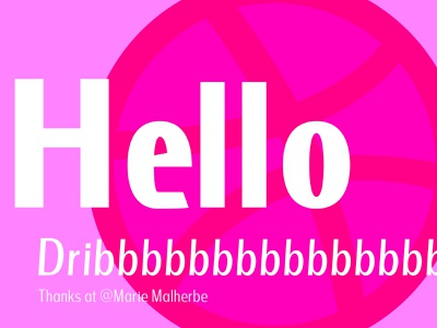 Hello Dribble first thanks dribbbbbbbbbbbbbble dribbble hello debut hello dribbble