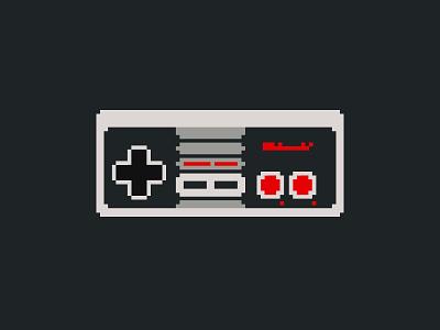 #SLDrefuel 13 of 52 —8-bit Nintendo Controller nes game video controller nintendo 8-bit sldrefuel