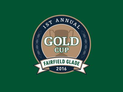 GOLD Cup golf tournament logo