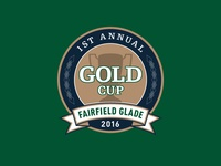GOLD Cup golf tournament logo