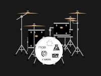 #SLDrefuel 16 of 52 —Drum Set