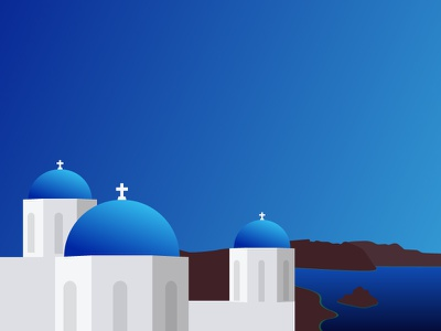 #SLDrefuel 19 of 52 — Santorini, Greece cross dome church greece santorini sldrefuel