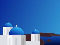 #SLDrefuel 19 of 52 —Santorini, Greece cross dome church greece santorini sldrefuel