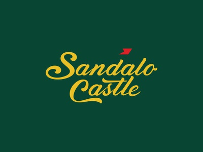 Sandalo Castle india resort hotel design logo branding