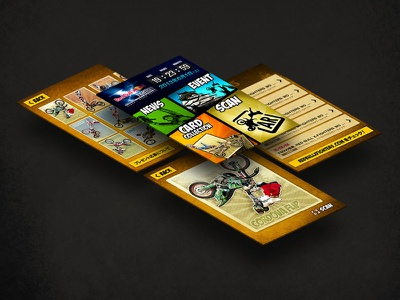 Red Bull X-Fighters AR Collection app ar red bull bike card iphone android