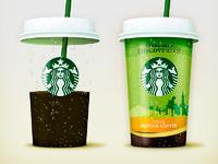 Starbucks tokyo big