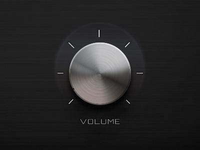 Volume Slider volume slider music button