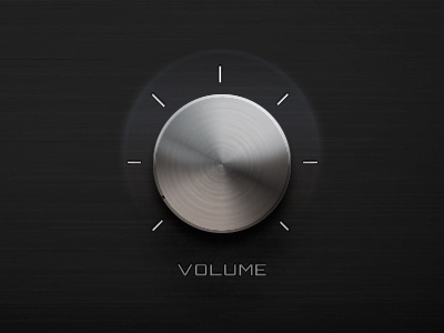 Volume Slider volume slider music button