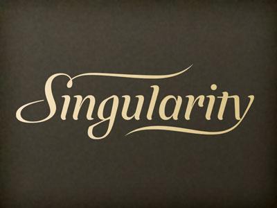 Singularity logo draft singularity logo lettering